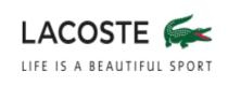 Купоны, скидки и акции от Lacoste